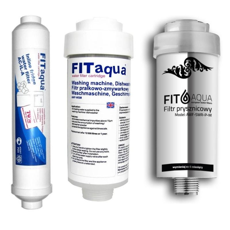 Zestaw-filtr-pralkowo-zmywarkowy-filtr-lodowkowy i prysznicowy