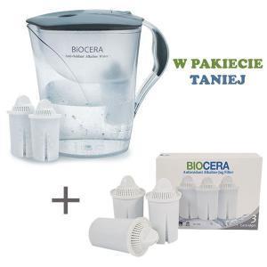 Chcesz uzyskać tanim sposobem wodę jonizowaną, dzbanek Biocera może być dobrym rozwiązaniem. Sprawdzony i dobrze przyjęty produkt ułatwiający uzyskanie wody jonizowanej w lepszej jakości.