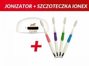PAKIET: Jonizator powietrza IONEX + szczoteczka IONEX