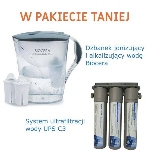 Dzbanek Biocera + filtr UPS C3
