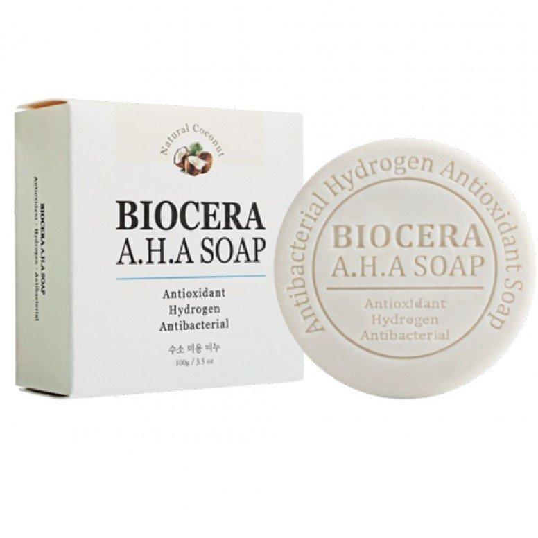 Antyoksydacyjne antybakteryjne mydło wodorowe Biocera A.H.A.
