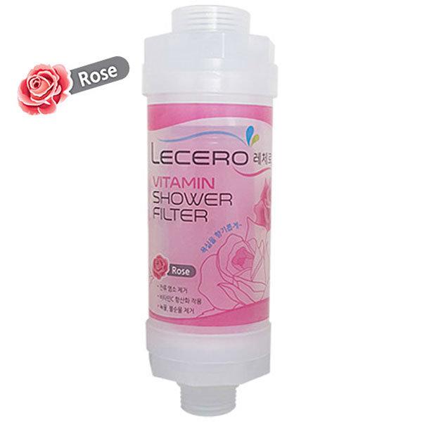 Prysznicowy filtr SPA zapachowy - róża