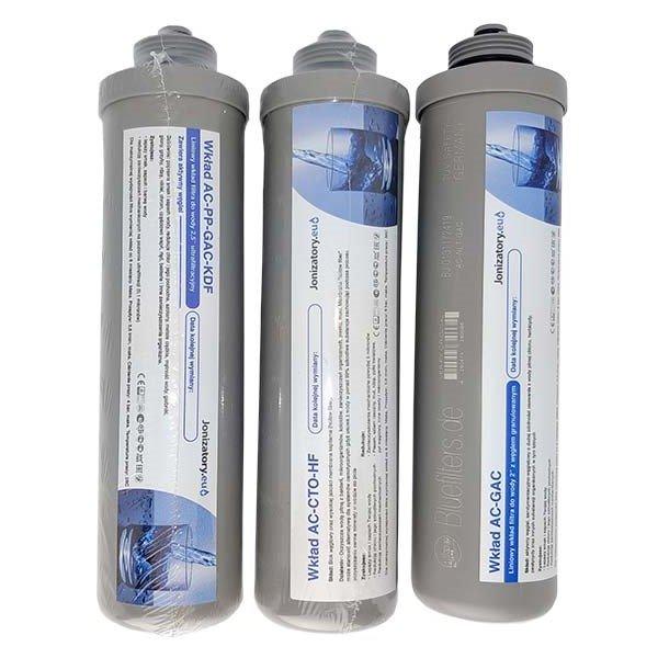 Chcesz uzyskać lepszej jakości wodę na bazie prostej filtracji, łatwej w montażu i wymianie lub posiadasz już system filtracji UPS C3 marki jonizatory.eu to wkłady są niezbędne.