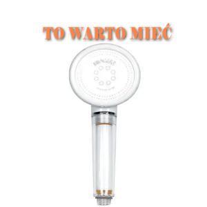 Filtr prysznicowy słuchawka Biocera Zero- WARTO MIEĆ