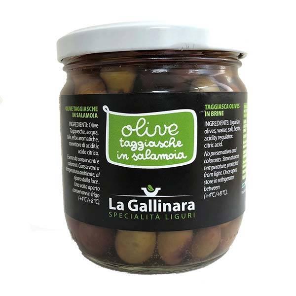 La Gallinara - Oliwki TAGGIASCHE w solance 250g